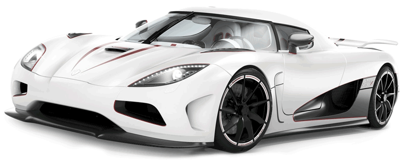 Learn easy to draw Koenigsegg Agera R step 18