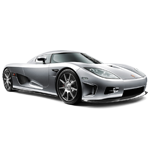 Learn easy to draw Koenigsegg CC8S icon
