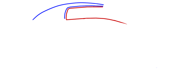 Learn easy to draw Koenigsegg CC8S step 02