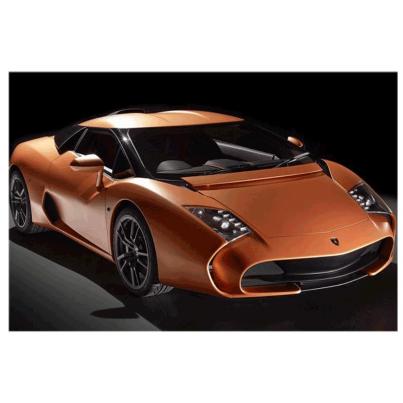 Learn easy to draw Lamborghini 5 95 Zagato step 10