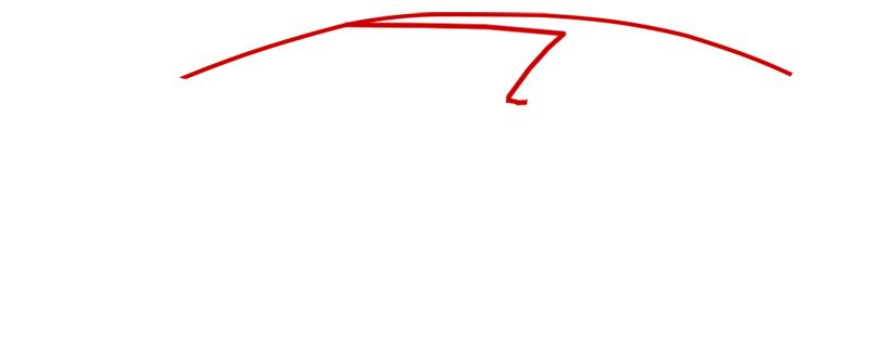 Learn easy to draw Lamborghini Aventador step 01