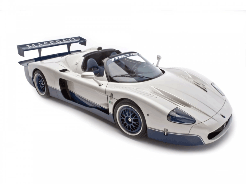 Learn easy to draw Maserati MC12 step 20