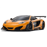 Learn easy to draw McLaren MP4 12C white icon