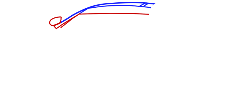 Learn easy to draw McLaren MP4 12C white step 02
