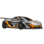 Learn easy to draw McLaren P1 GTR icon