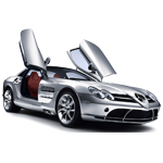Learn easy to draw Mercedes Benz SLR McLaren icon