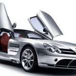 Learn easy to draw Mercedes Benz SLR McLaren step 20 150x150