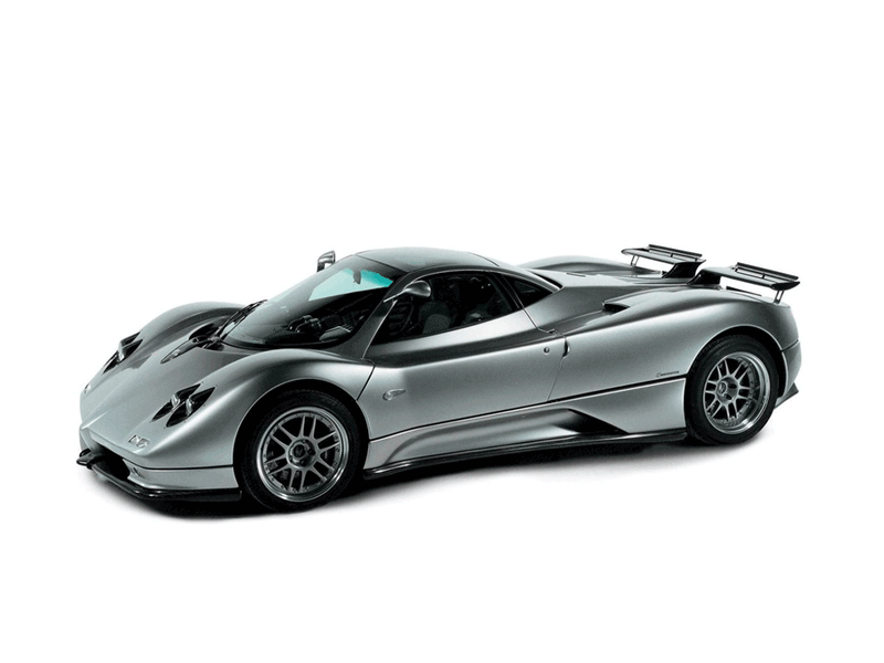 Learn easy to draw Pagani Zonda C12 step 20