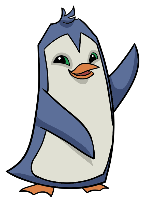Learn easy to draw Penguin step 10