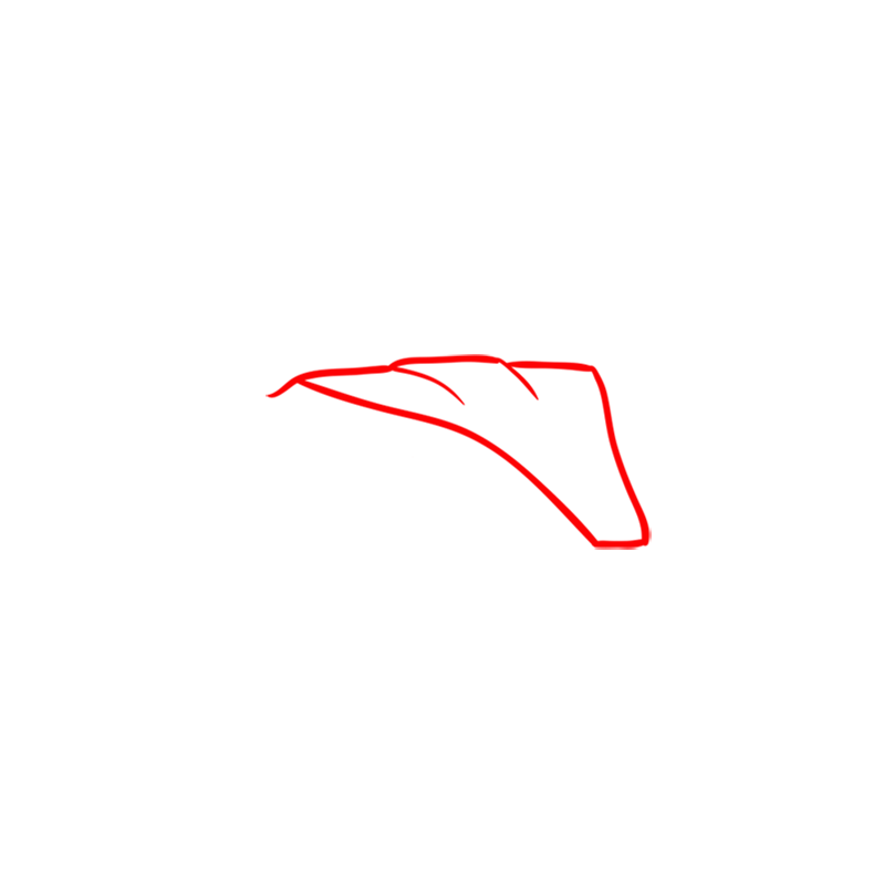 Learn easy to draw Radical SR8 RSX step 01
