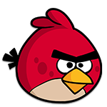 Learn easy to draw Red Bird icon