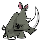 Learn easy to draw Rhino icon