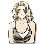 Learn easy to draw Scarlett Johansson icon