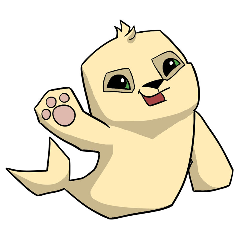 Learn easy to draw Seal step 00