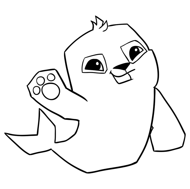 Learn easy to draw Seal step 11