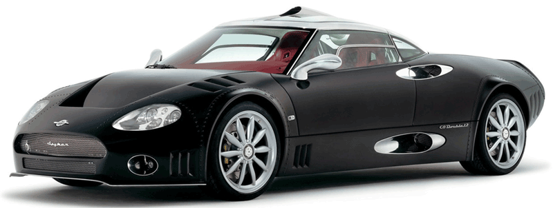 Learn easy to draw Spyker C8 step 17