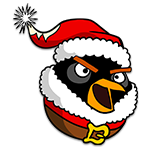 Learn easy to draw The Santa Bomb Bird icon