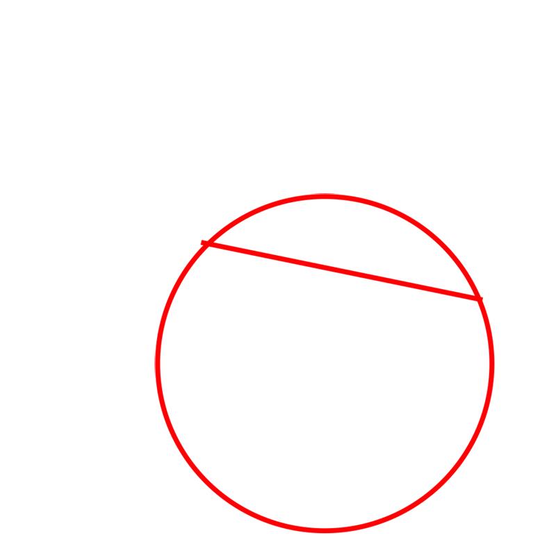 Learn easy to draw The Santa Bomb Bird step 01
