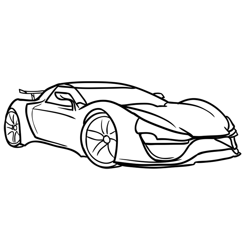 Learn easy to draw Trion Nemesis step 07