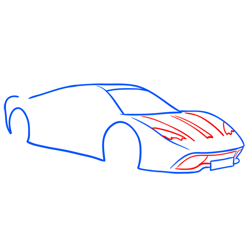 Learn easy to draw Vencer Santhe step 04