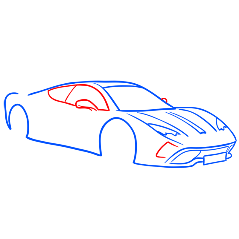 Learn easy to draw Vencer Santhe step 05