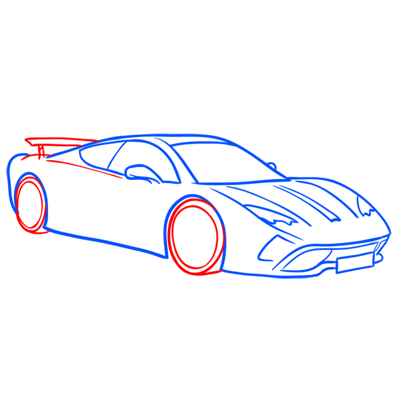 Learn easy to draw Vencer Santhe step 06