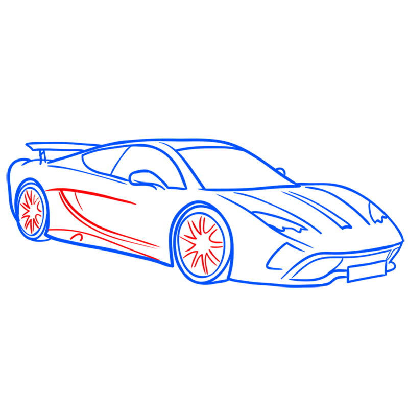 Learn easy to draw Vencer Santhe step 07
