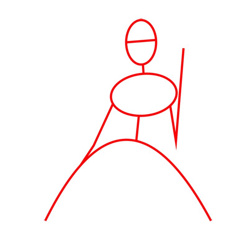 Learn easy to draw alexa step 01