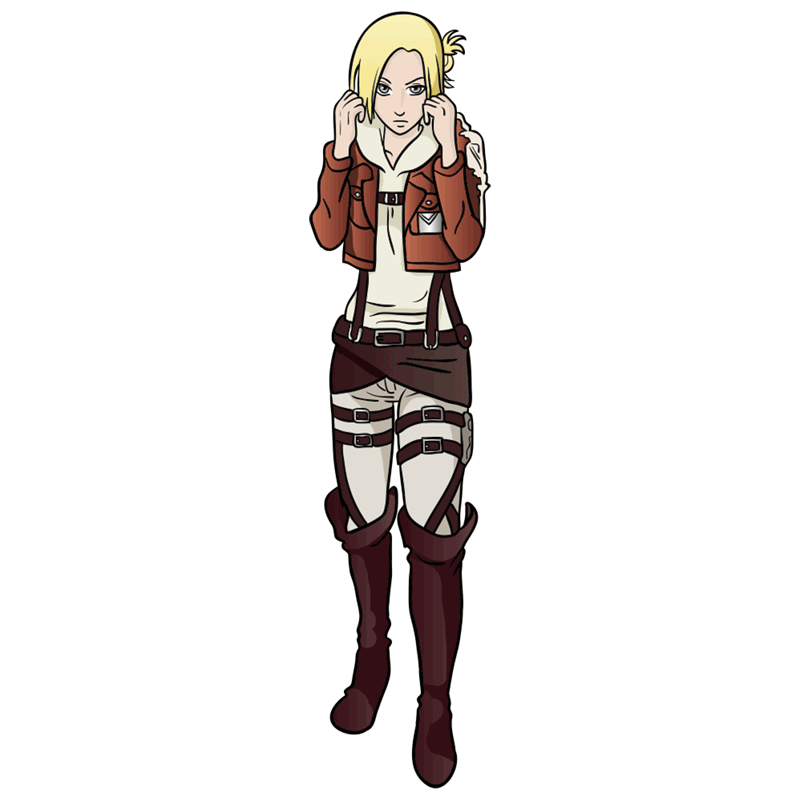 Learn easy to draw annie leonhardt step 13