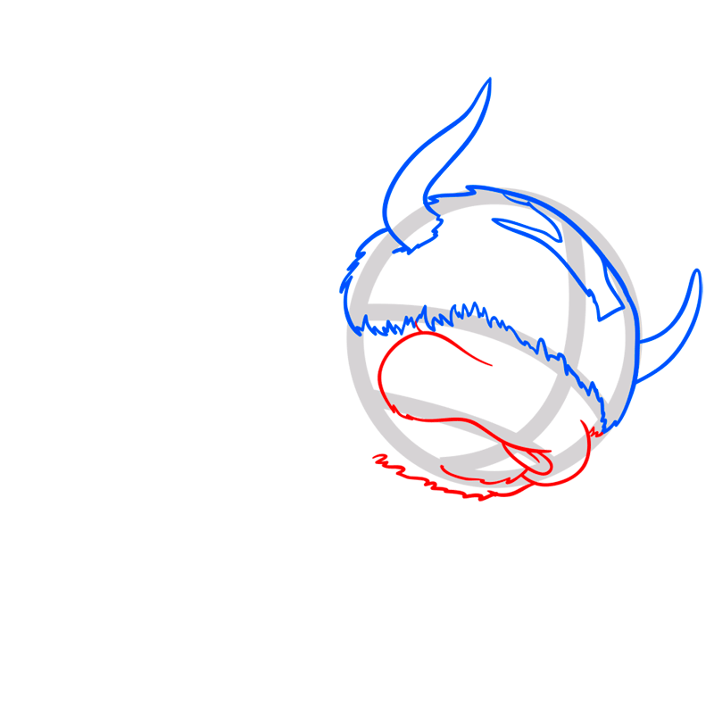 Learn easy to draw appa step 04