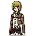 Learn easy to draw armin arlert icon