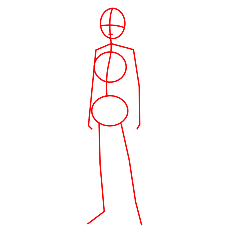 Learn easy to draw armin arlert step 01