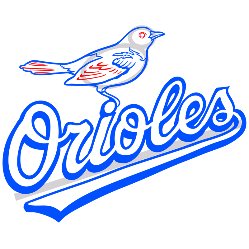 Learn easy to draw baltimore orioles logo step 10