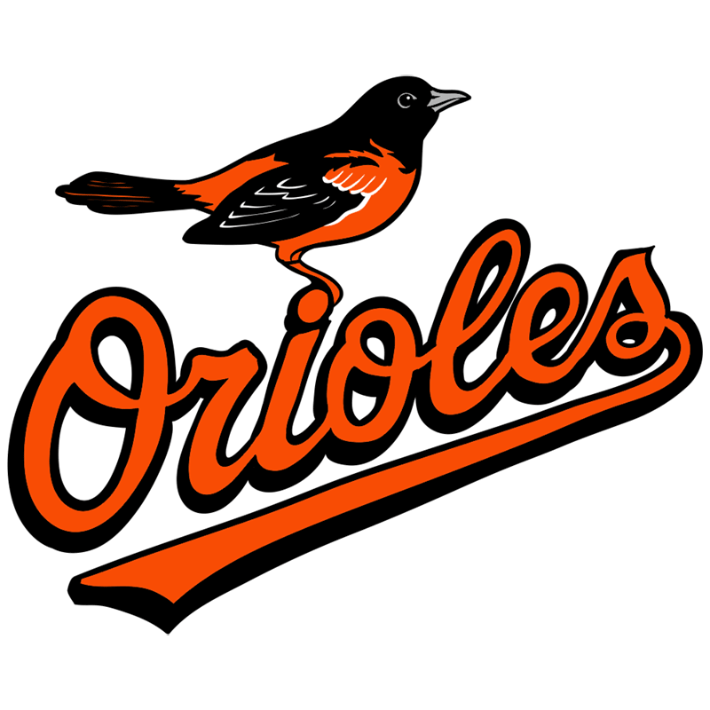 Learn easy to draw baltimore orioles logo step 12