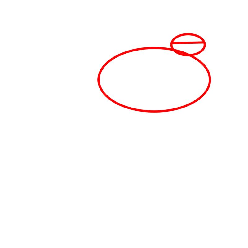 Learn easy to draw blitzwolfer step 01