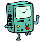 Learn easy to draw bmo icon