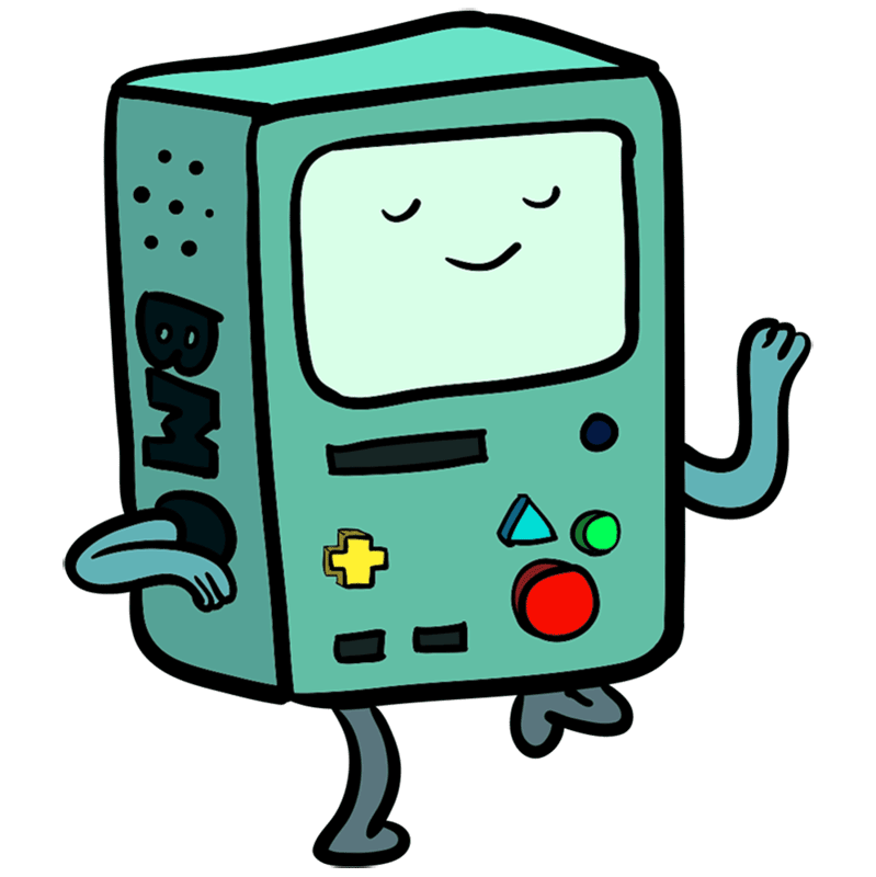 Learn easy to draw bmo step 00