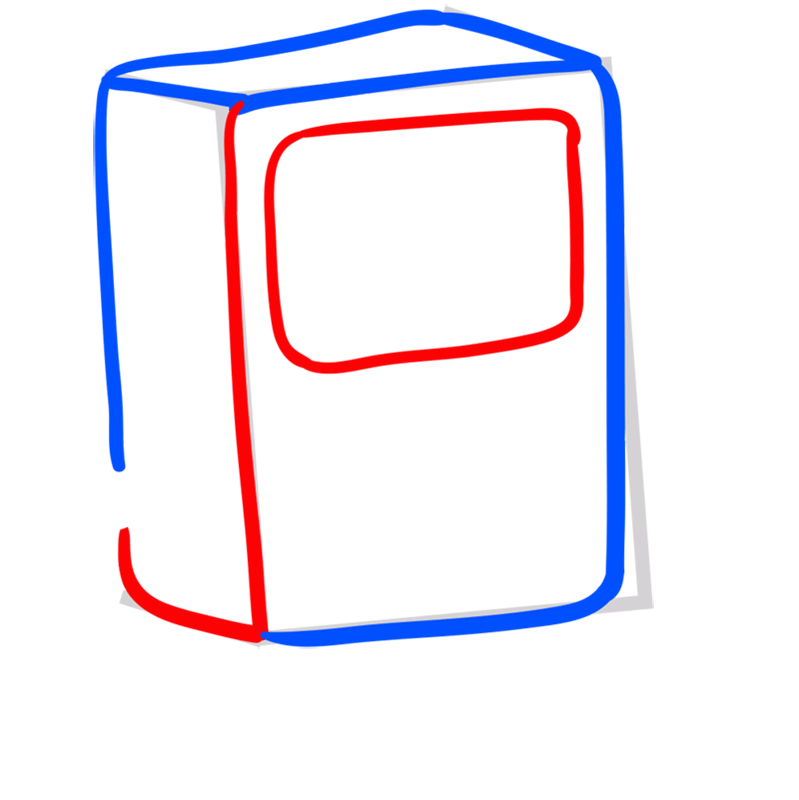 Learn easy to draw bmo step 04