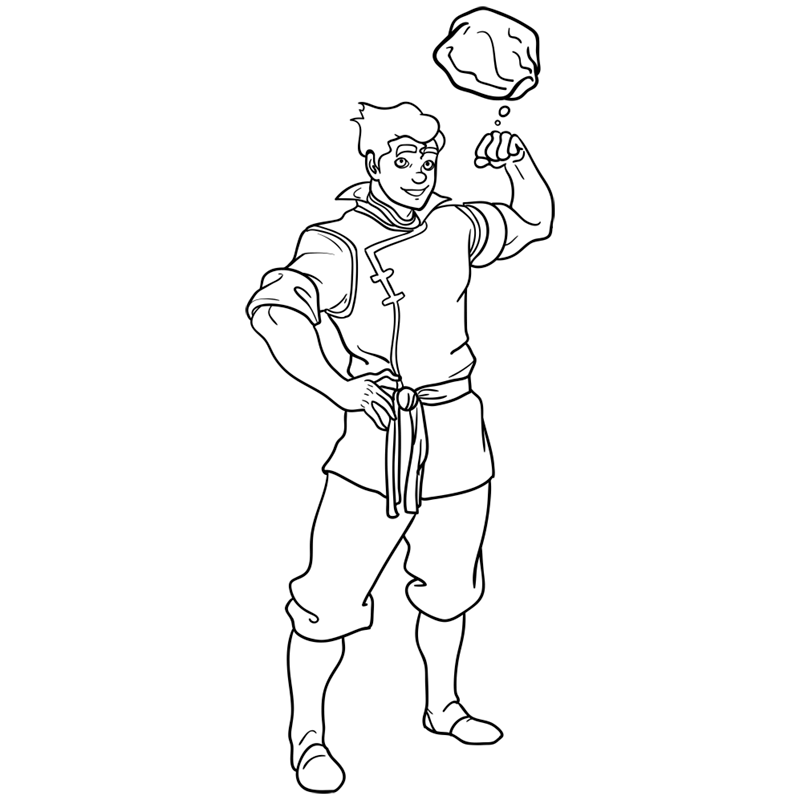 Learn easy to draw bolin step 13