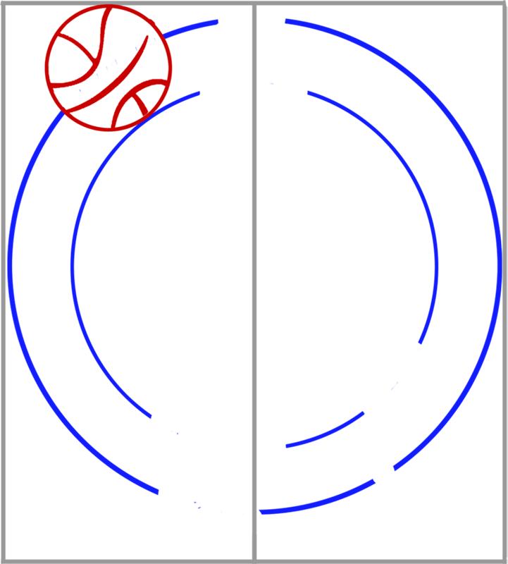 Learn easy to draw boston celtics step 03