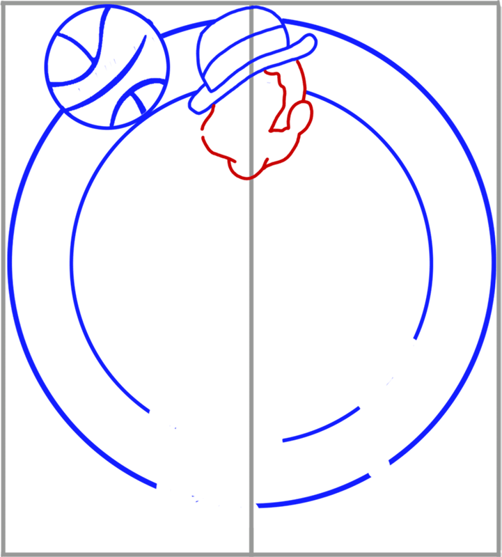 Learn easy to draw boston celtics step 05