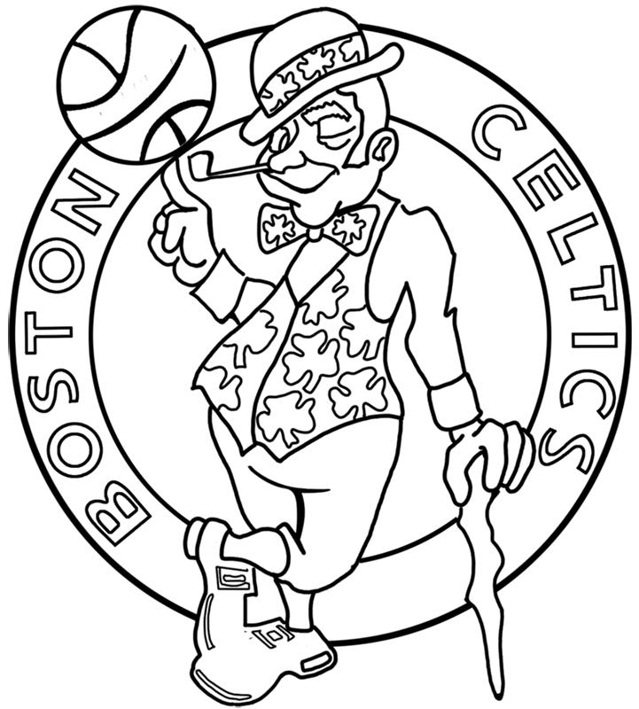 Learn easy to draw boston celtics step 14