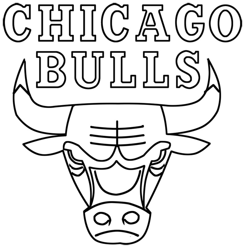 Learn easy to draw chicago bulls step 00
