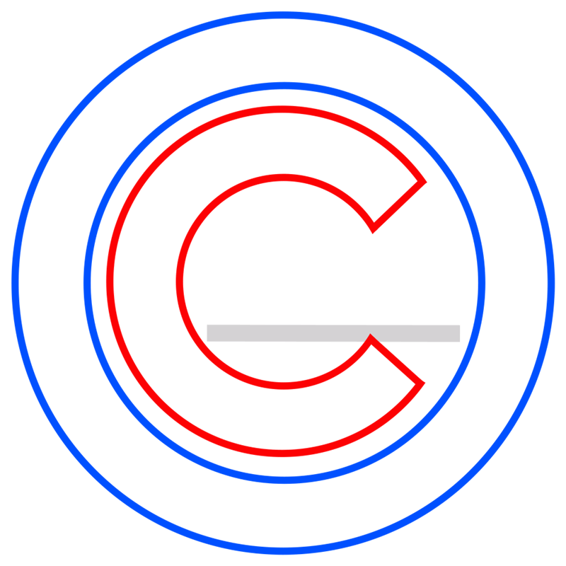 Learn easy to draw chicago cubs step 04
