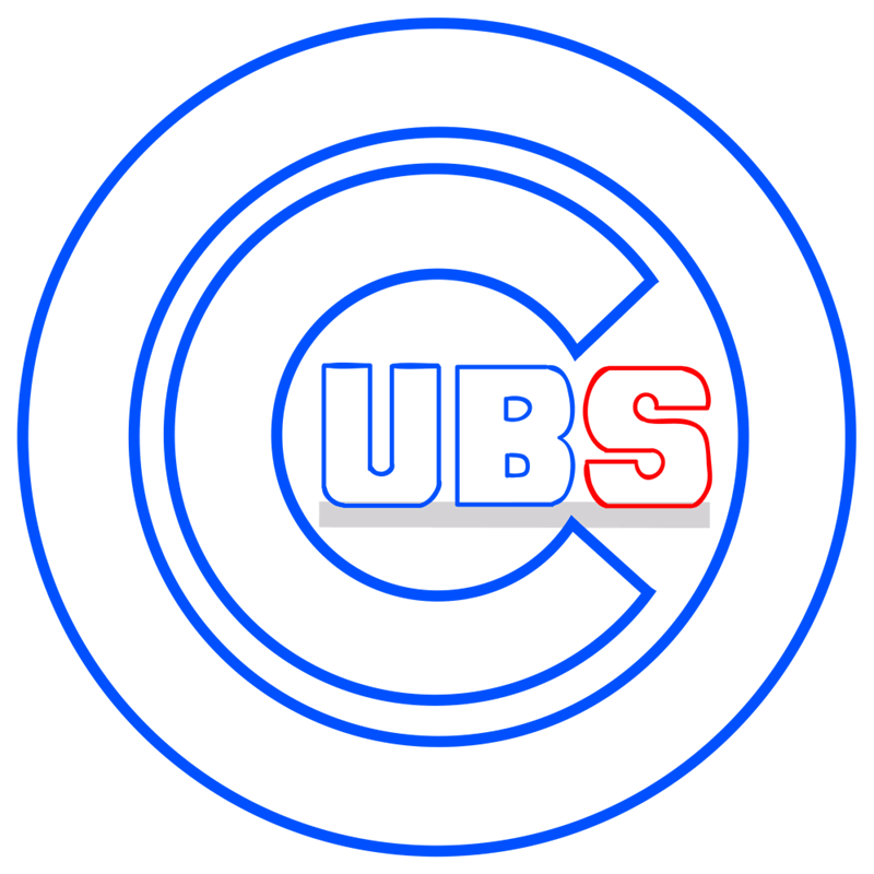 Learn easy to draw chicago cubs step 07
