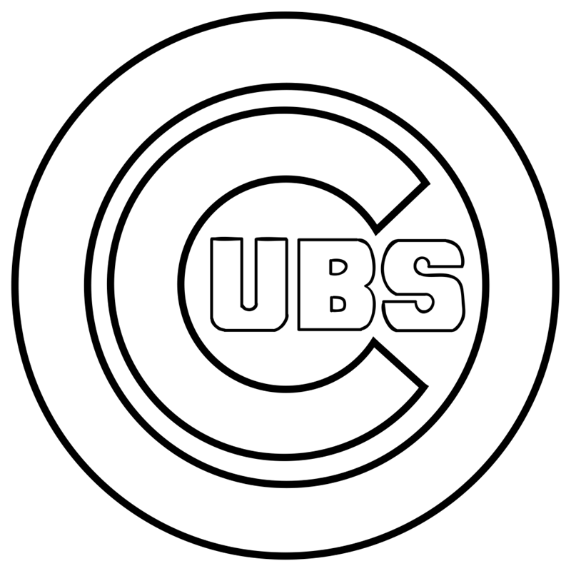 Learn easy to draw chicago cubs step 08