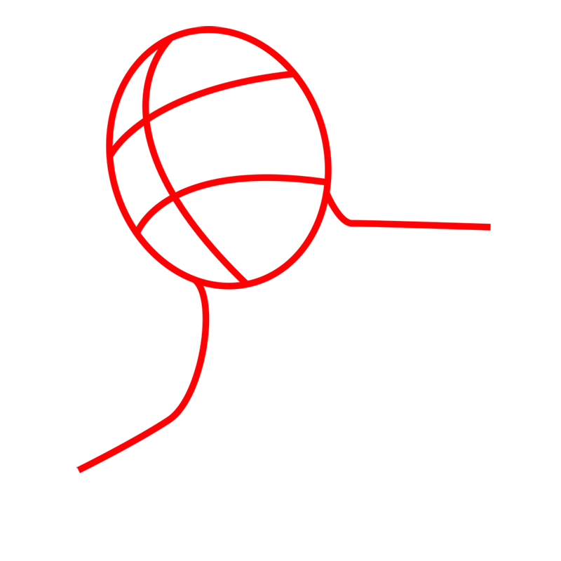 Learn easy to draw colossal titan step 01