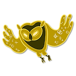 Learn easy to draw cosmic owl icon