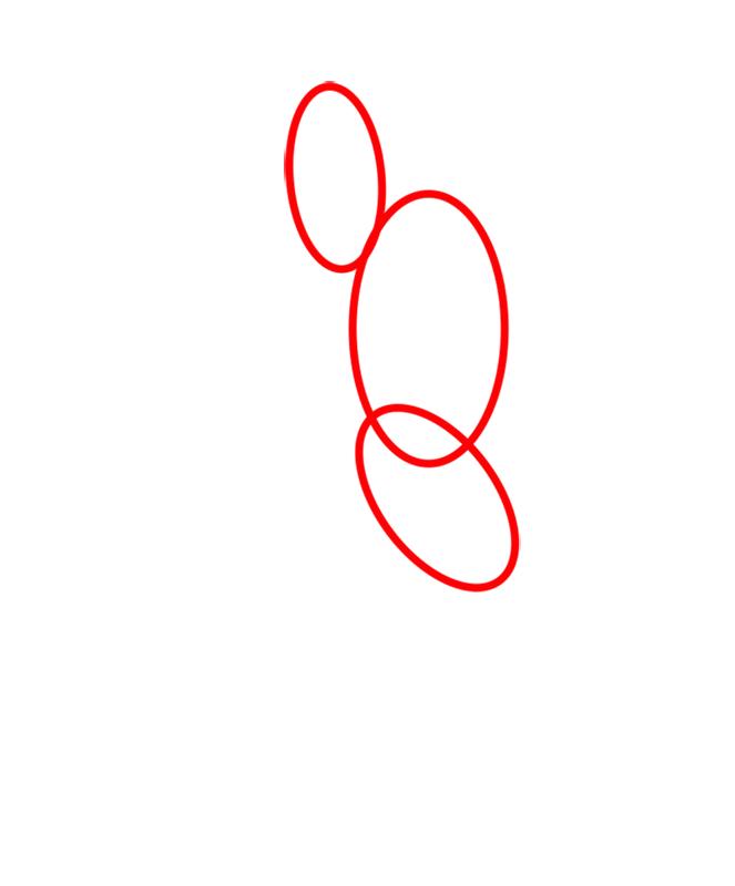 Learn easy to draw crashhopper step 01