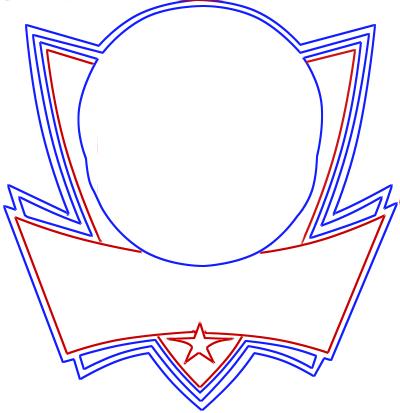 Learn easy to draw dallas mavericks step 05